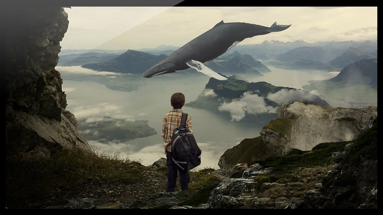 Photoshop compositing tutorial whale lands youtube baditri Gallery
