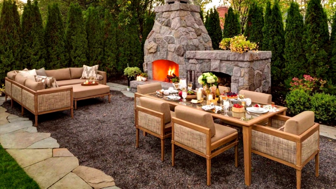 ideas outdoor dining rooms