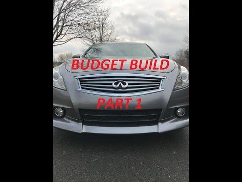 G37 Budget Build Part 1 - The Plan
