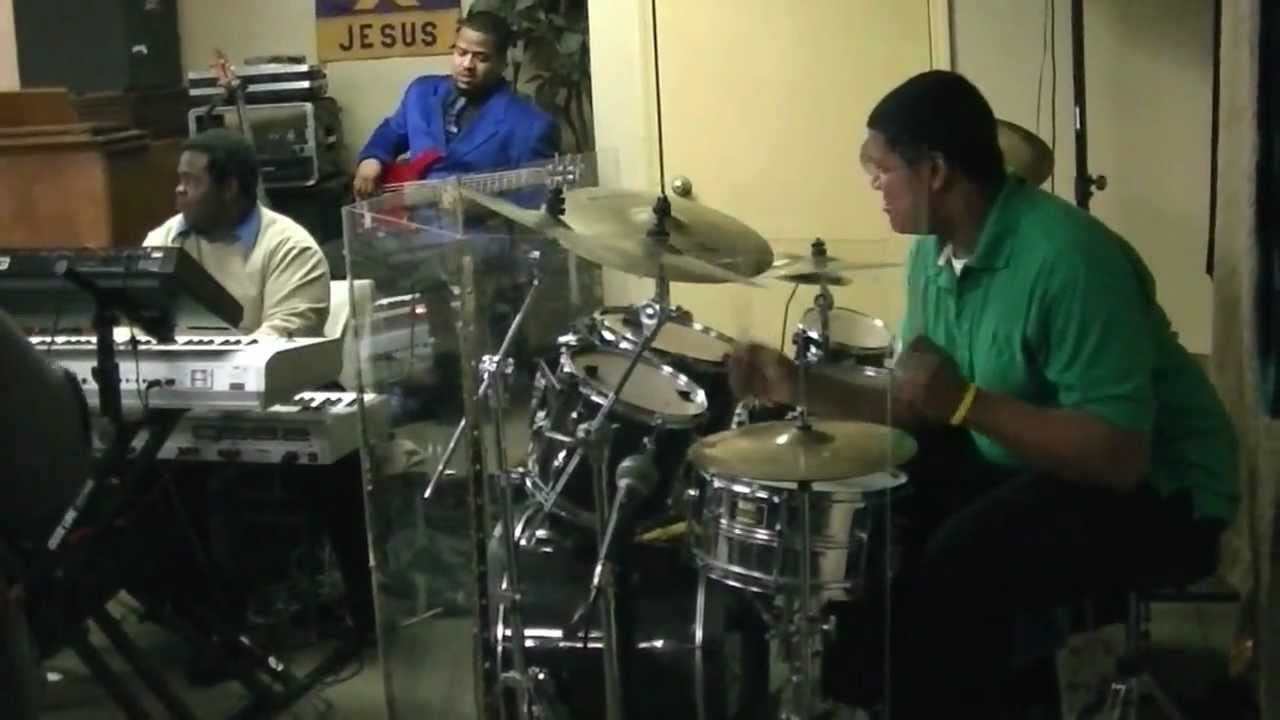 playing drums at church doovi. Black Bedroom Furniture Sets. Home Design Ideas