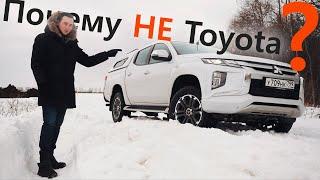Взял Mitsubishi L200 после ТОЙОТЫ Hilux. Теперь понятно почему ТАКИЕ НАЦЕНКИ! видео