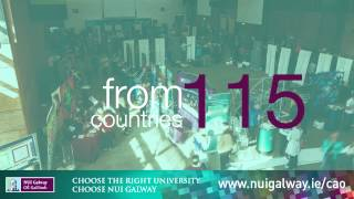 Choose the Right University, Choose NUI Galway #CAO2015