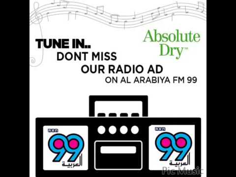 ABSOLUTE DRY ON RADIO (arabic) Al Arabiya 99.9