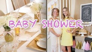 Baby Shower Party Planning for Oksanas baby girl | DIY | Burykin Family