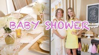 Baby Shower Party Planning for Oksanas baby girl | DIY | Burykin Family
