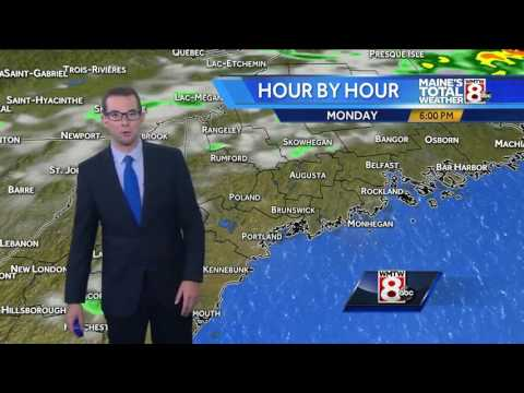 A sunny end to July with building humidity by mid-week