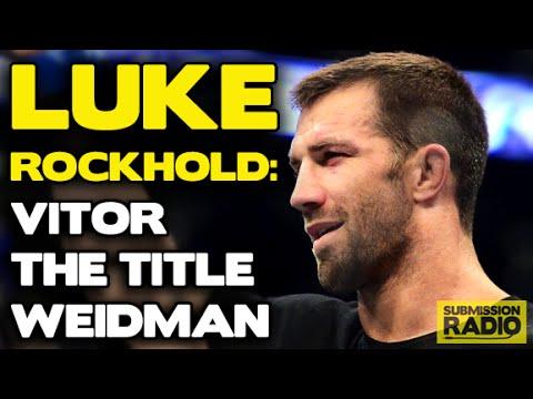 Luke Rockhold: UFC 187, Chris Weidman vs Vitor Belfort, why Weidman can't out-wrestle him