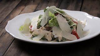 Куриный Салат с Беконом || FOOD TV Простой и Быстрый Рецепт