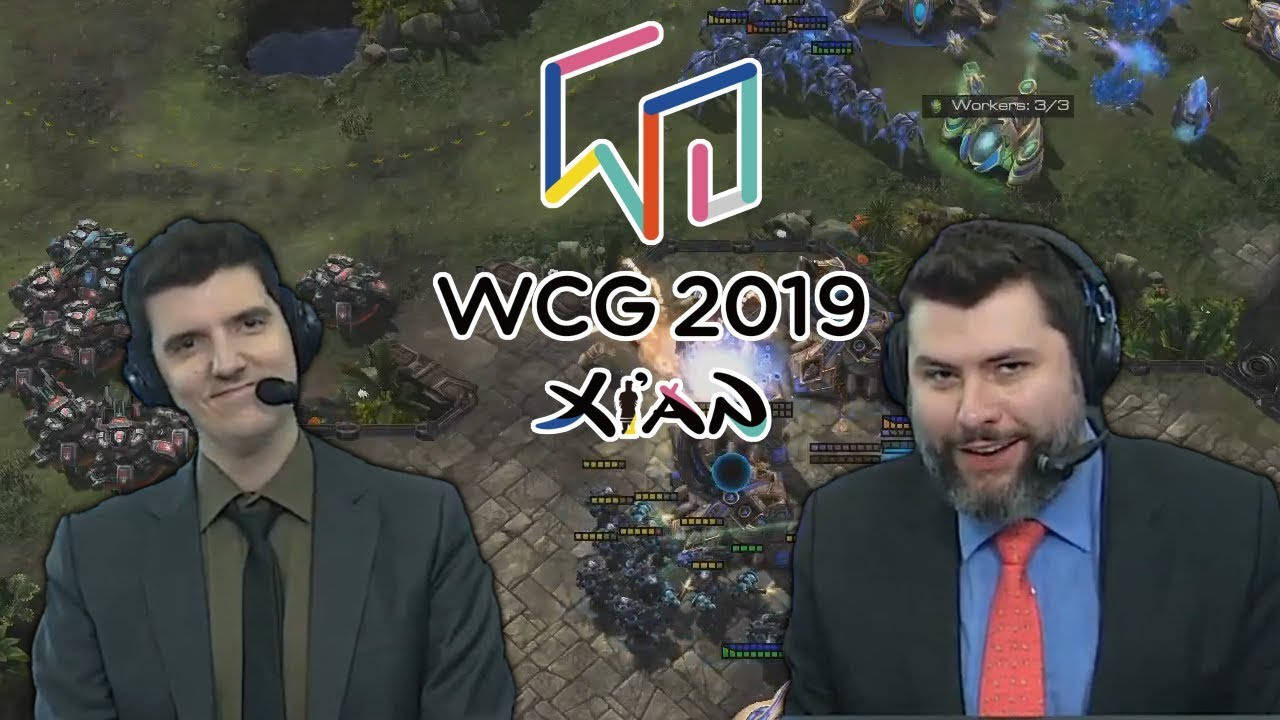 Tasteless and Artosis -StarCraft II - WCG 2019 Seeding Matches - Highlights  and Banter