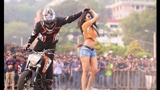 Nepal Bike stunt video (dr. hayu)  2015