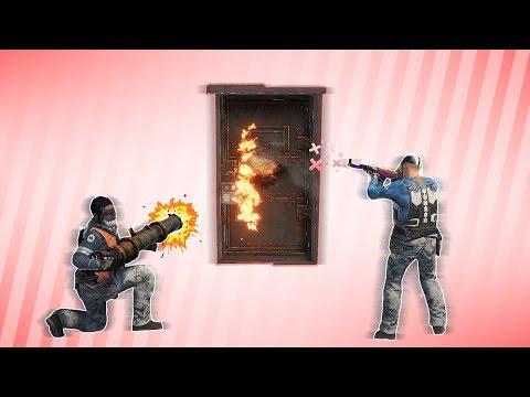 RUST | 50 ROCKETS in 1 MINUTE RAID DEFENSE (Huge online raid, +PvP Highlights) thumbnail