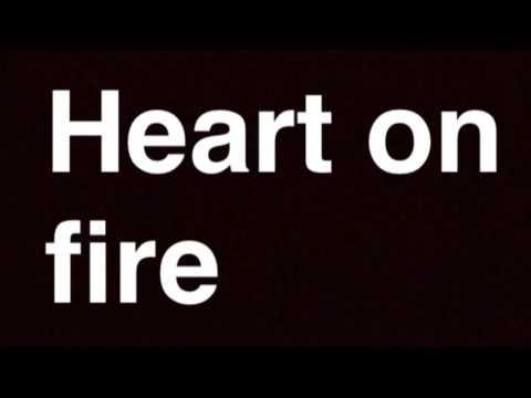 Heart on fire - Jonathan clay instrumental