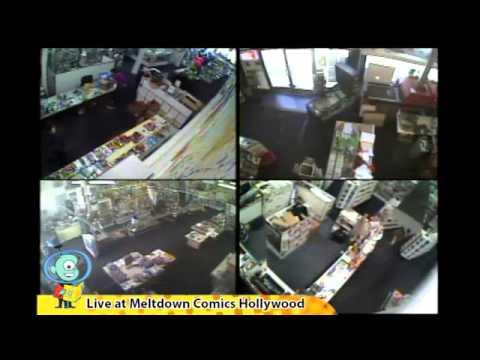 Comic Book Store Cam LIVE