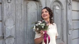 Свадебное платье в стиле 50х годов