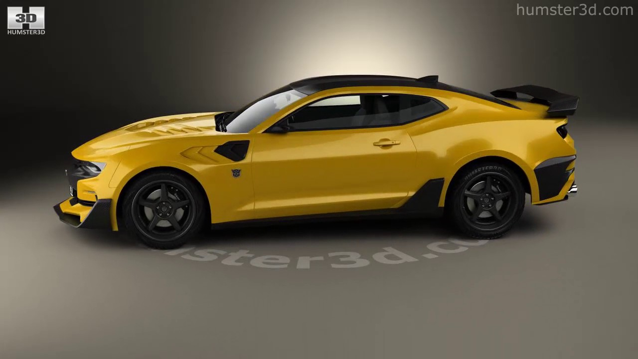 Chevrolet Camaro Bumblebee 2017 3D model by Humster3D.com ...