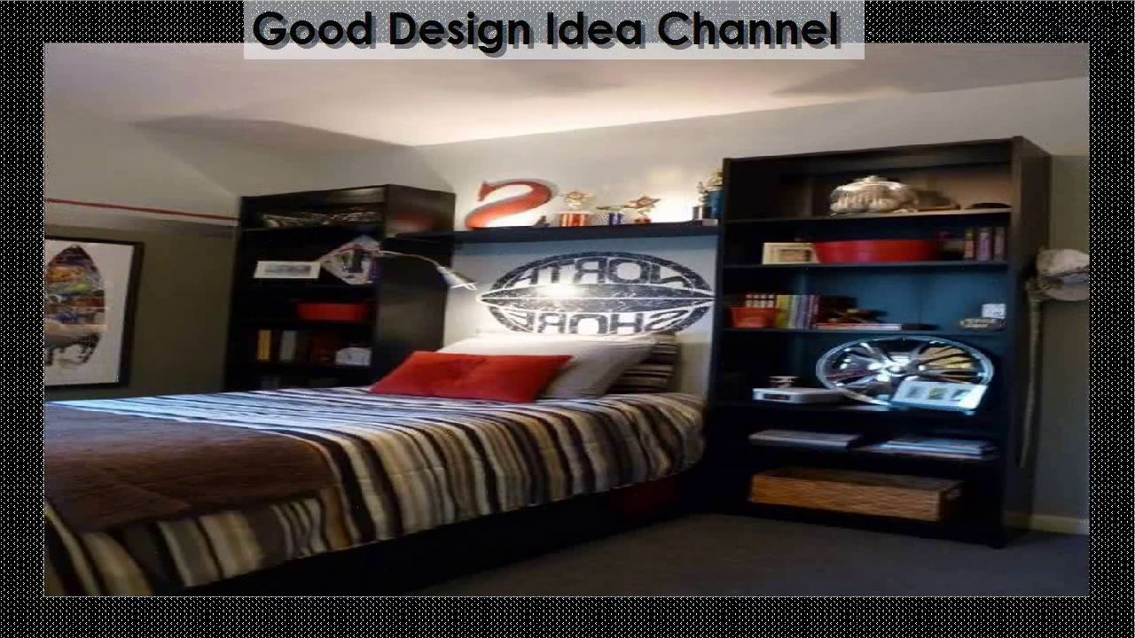 Small Bedroom Ideas For Young Man - YouTube