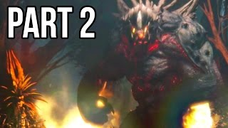 Evolve Gameplay Walkthrough - Part 2 Big Alpha - MONSTER SUPER MOVES!! (XB1/PS4/PC 1080p HD)