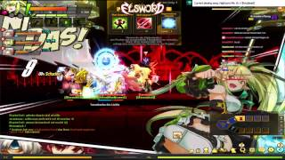 [Elsword DE] 2h+ Ereda with WS (edited Stream)