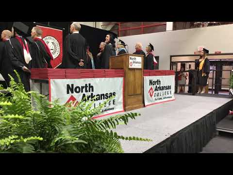 North Arkansas College 2019 Graduation