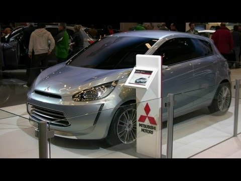 Mitsubishi Global Small Concept Exterior at 2012 Montreal Auto Show