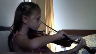 Home on the Range violin