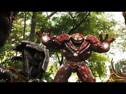 Халкбастер против Кулла Обсидиана | Мстители: Война бесконечности (2018)