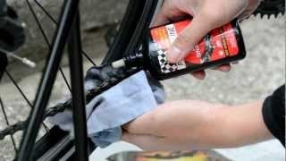 自転車チェーンの注油メンテナンス・油のさし方 thumbnail