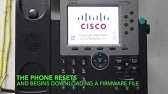 Cisco Phone Firmware Upgrade Without CUCM - YouTube