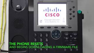 Factory Reset Cisco 7965 Re-Image in Real Time