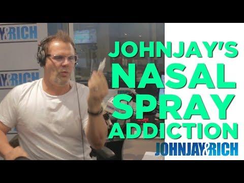 In-Studio Videos - Johnjay's Nasal Spray Addiction