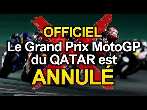 OFFICIEL - Le Grand Prix MotoGP du QATAR est ANNULÉ ! ��