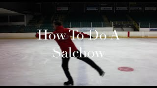 HOW TO DO A SALCHOW JUMP | FIGURE SKATING ❄️❄️