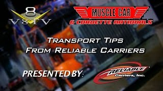 Trailering Treasure: Reliable Carriers Transports Irreplaceable Vehicles to the 2014 MCACN-Video