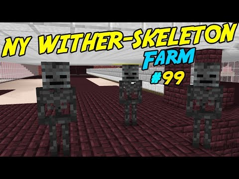 NY WITHER-SKELETON FARM | MINECRAFT Lets Play | #99