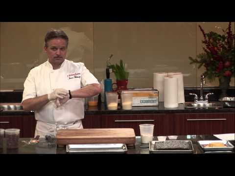 Chef Mullaney Demonstrating the Silpat® Product Range