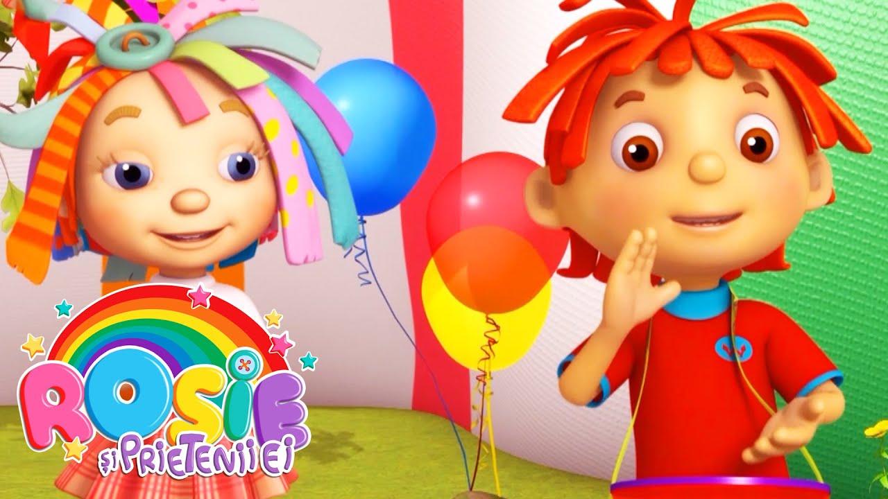 Rosie și prietenii ei - Spectacolul din grădină (Ep.21)  Desene animate pentru copii de grădiniță