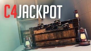 ARMORED RAID delivers C4 JACKPOT - Rust