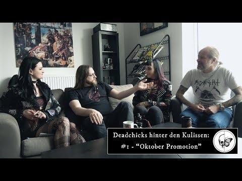 Deadchicks hinter den Kulissen: #1 - Oktober Promotion in Hamburg