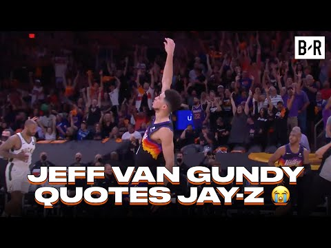 Jeff Van Gundy Quotes Jay-Z After This Devin Booker Clutch Shot