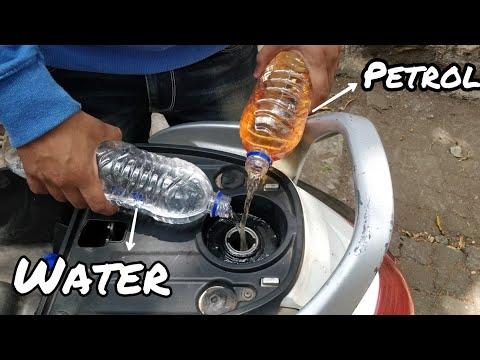 Water + Petrol mixing!!!