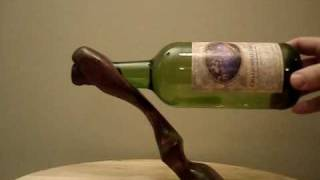 Self Balancing Wine Bottle Holder - Www.heartwoodgifts.com
