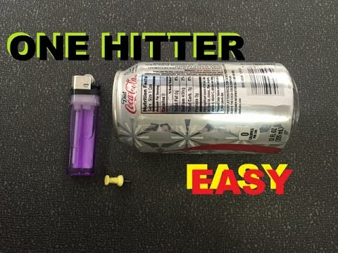 How To Make A Can Pipe