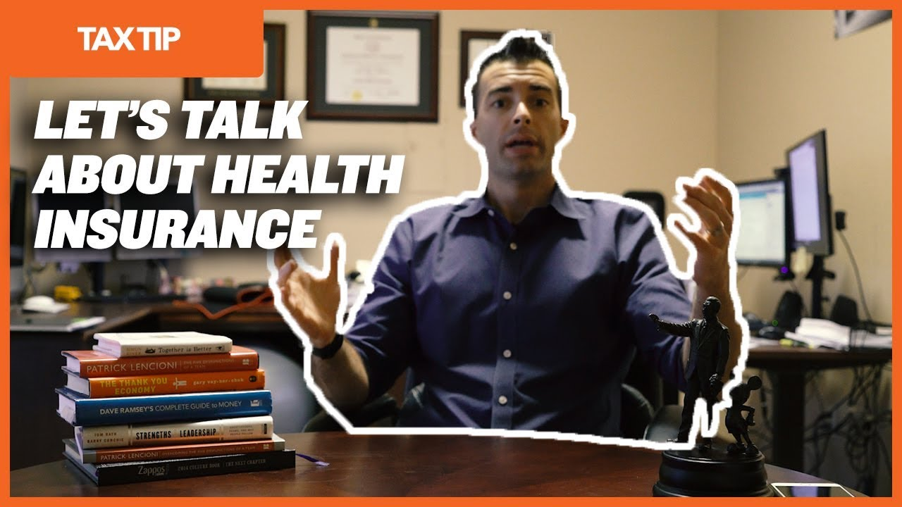 TAX TIP: SELF-EMPLOYED HEALTH INSURANCE DEDUCTION - YouTube