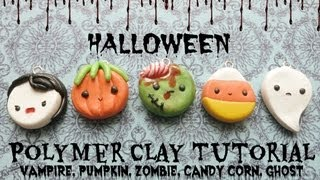 Halloween Charms | Polymer Clay Tutorial ≧◡≦ Thumbnail