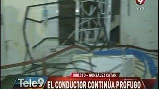 González Catán: El conductor continúa prófugo