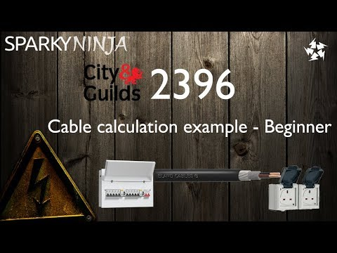 2396 Ep 3 - Cable calculation example - Beginner