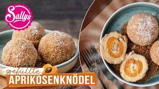 Aprikosenknödel  Grundrezept für süße Knödel aus Österreich  Sallys Welt