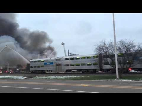 Arlington Heights Warehouse Fire Extra Alarm