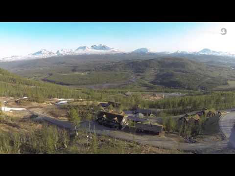 Hytteidyll i veletablerte Målselv Fjellandsby - EM1 Finnsnes