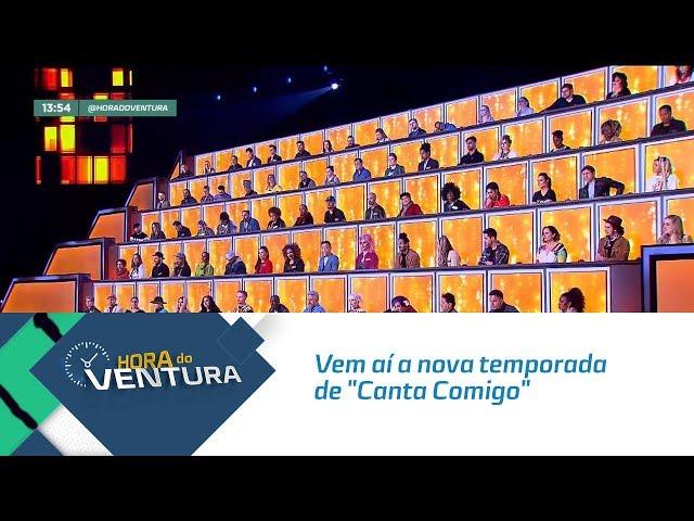 """Vem aí a nova temporada de """"Canta Comigo"""" com Gugu Liberato - Bloco 01"""